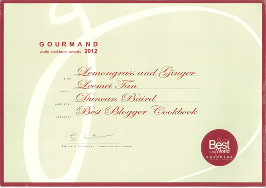 gourmand-award