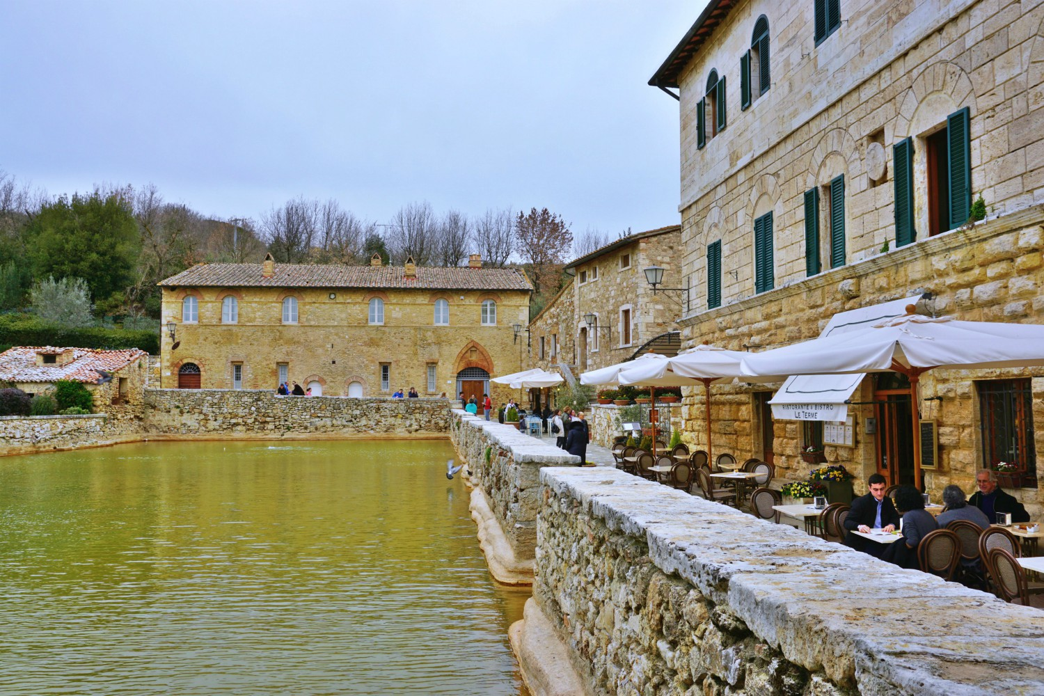 Bagno Vignoni Free Thermal Baths Bagno Vignoni Where The Main Piazza Is A Hot Water Pool