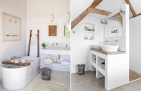 15 beautiful modern rustic bathrooms