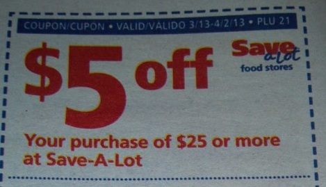 Save a lot 5 off 25 coupon march 2018  Amber grill stevens point - save a lot flyer