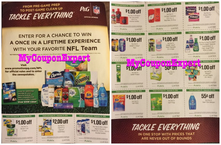 PUBLIX coupon flyer TACKLE EVERYTHING! Check it out! - My Coupon - coupon flyer
