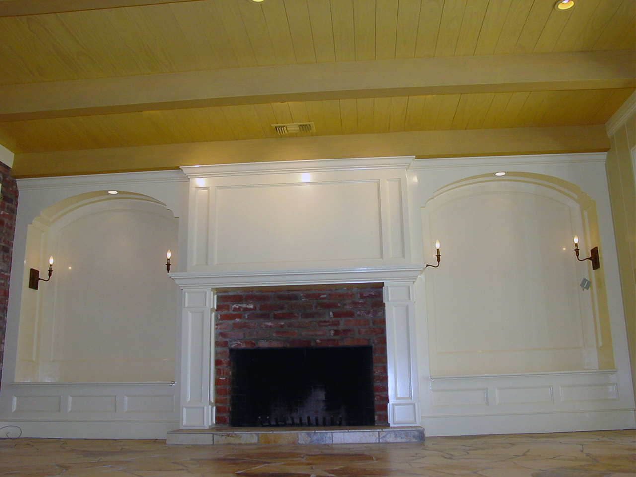 6 Ft Fireplace Mantel Custom Fireplace Mantel And Seating Craftsman Connection Llc