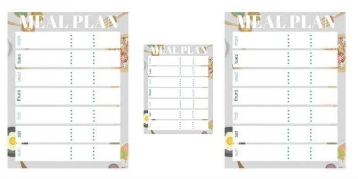 Free Meal Plan Printable Bullet Journal Stickers My Crazy Good Life