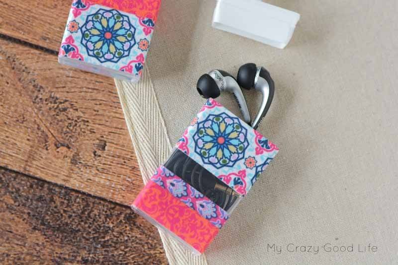 Diy Earbud Holder Made From Tic Tac Containers My Crazy