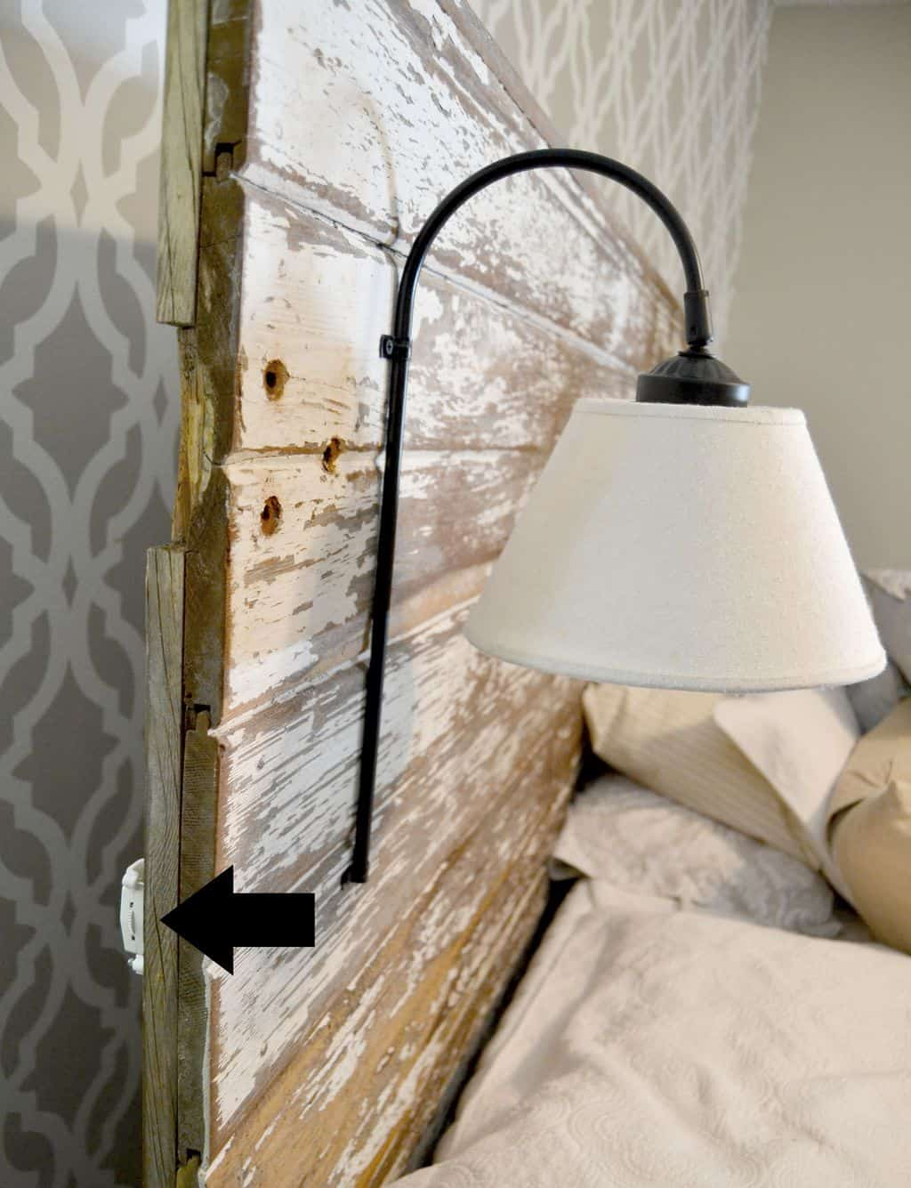 Lights Over Headboard Diy Headboard Sconces My Creative Days