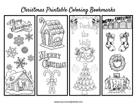 Printable Coloring Bookmarks | Coloring Page