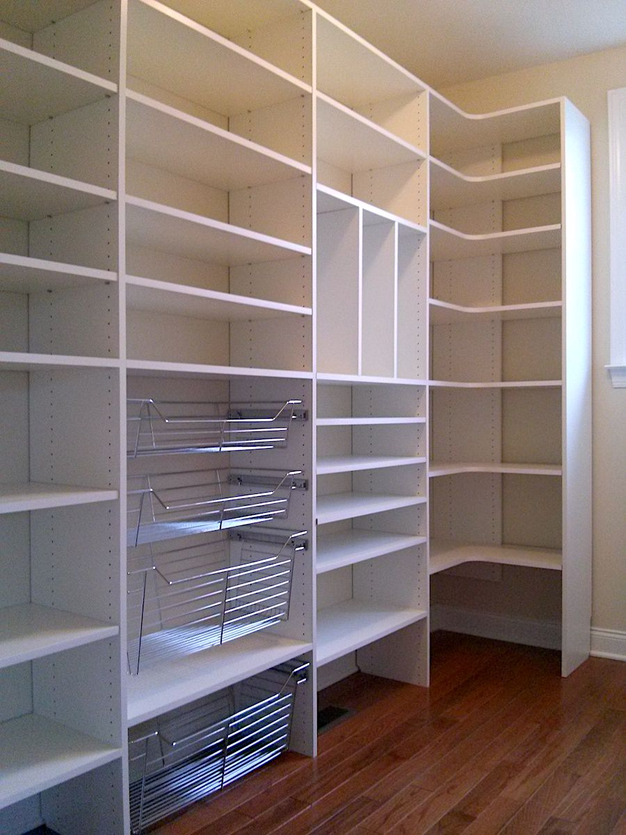 Closet Pantry Newtown Square Custom Pantry For Parents My Custom Closet
