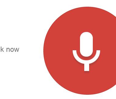 Búsqueda de Voz en Google