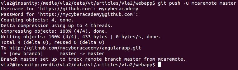 Enviando el codigo a GitHub