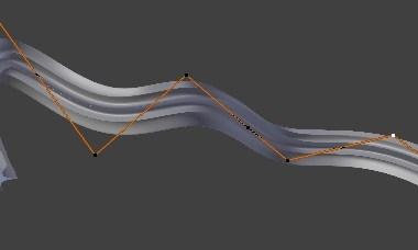 Cómo extruir a lo largo de una curva