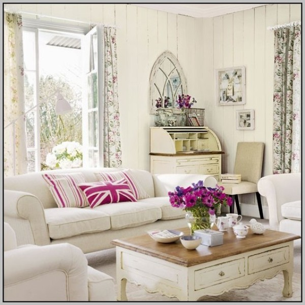shabby chic living room furniture. Black Bedroom Furniture Sets. Home Design Ideas