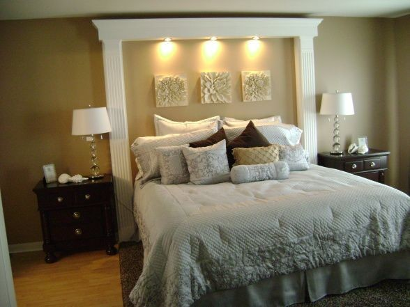 1000 Ideas About King Headboard On Pinterest Tall Bed