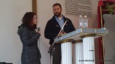 Owen preaching, Nansi Translating