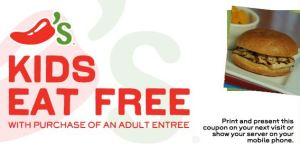 chili's kids eat free