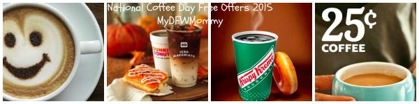 National Coffee Day Free Offers