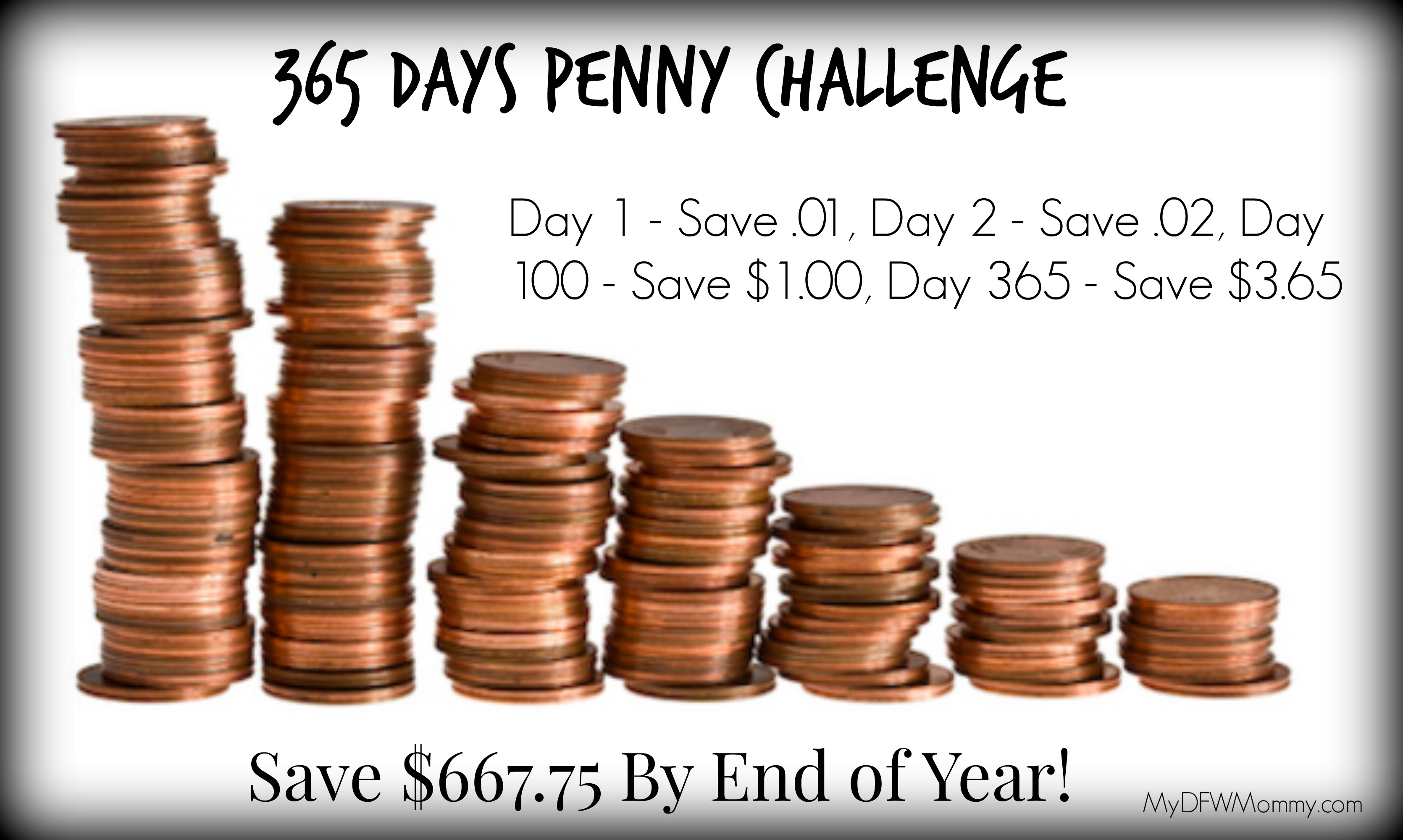365 Days Penny Challenge