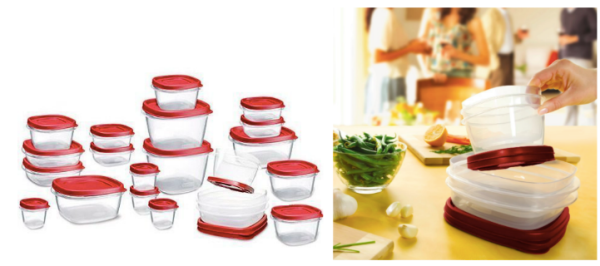 Amazon: Highly Rated 42-Piece Rubbermaid Easy Lids Food Storage