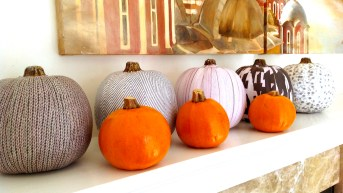 Fabric Photocopy Pumpkins