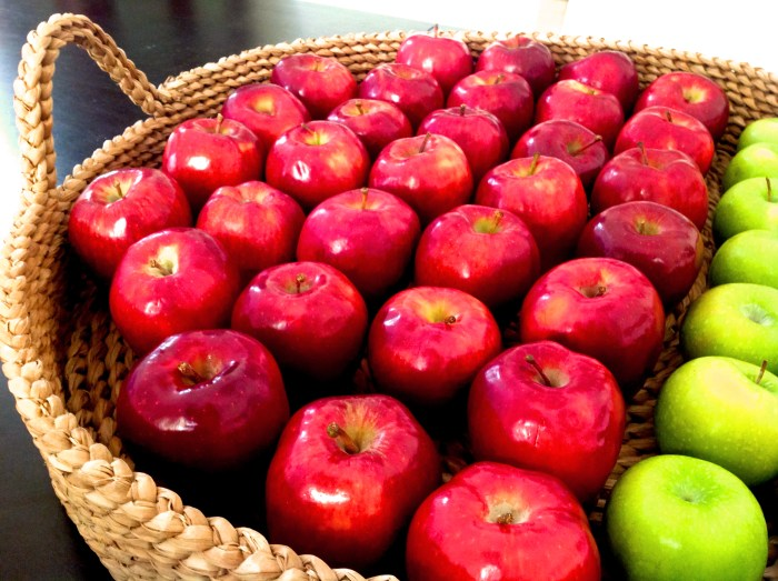 When Life Gives You Apples….