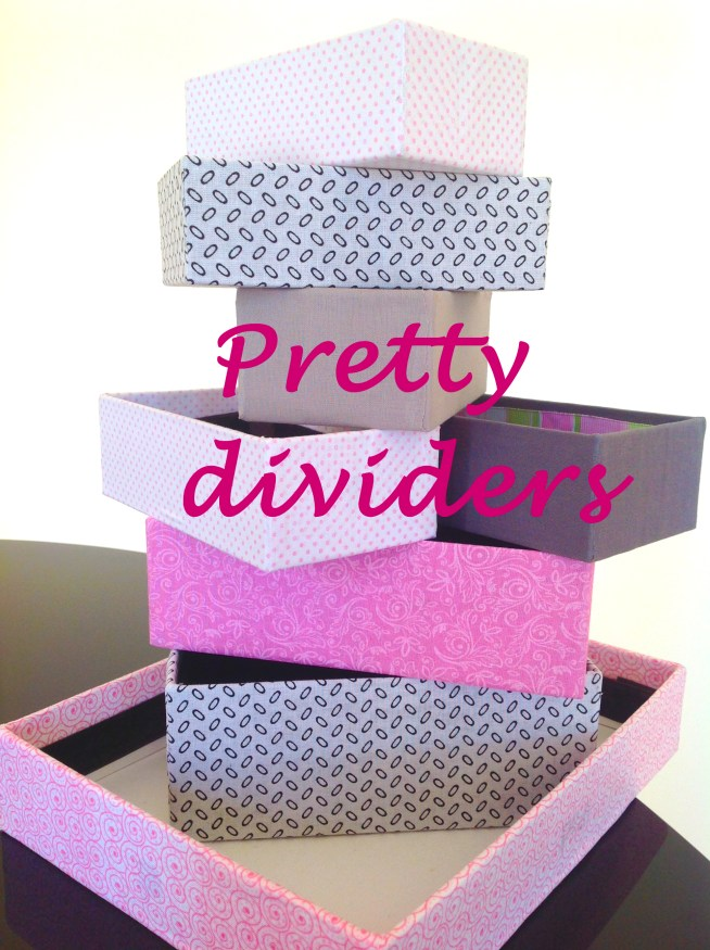 How to Make Drawer Dividers