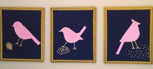 Three Birds Close Up