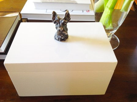 Box With Scottish Terrier