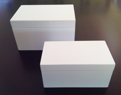 Two Lacquered Boxes