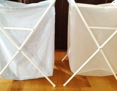 Comparing Two Laundry Baskets