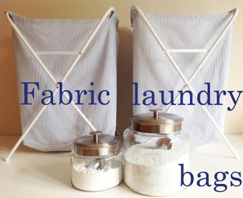 Fabric Laundry Bags - My Dear Irene