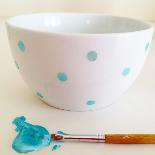 Blue Bowl And Paint - My Dear Irene