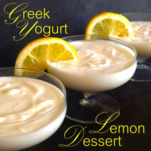 Greek Yogurt Lemon Dessert - My Dear Irene