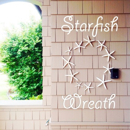 Welcome the Summer with a Starfish Wreath