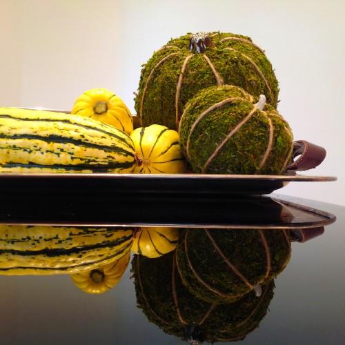 Moss Covered Pumpkins - mydearirene