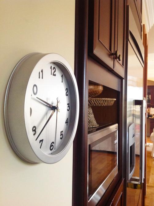 Clock In The Kitchen- mydearirene