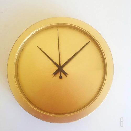 Golden Clock - mydearirene