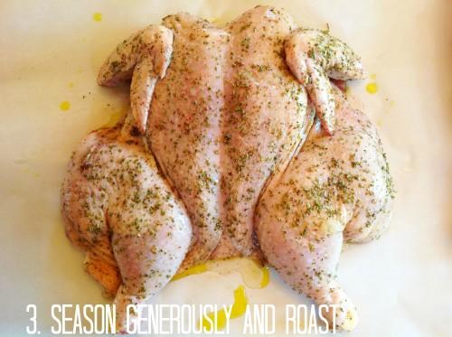 Season Generously And Roast