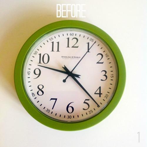 Wall Clock Before - mydearirene
