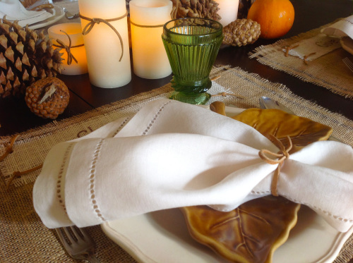 Napkin On Placemat - mydearirene