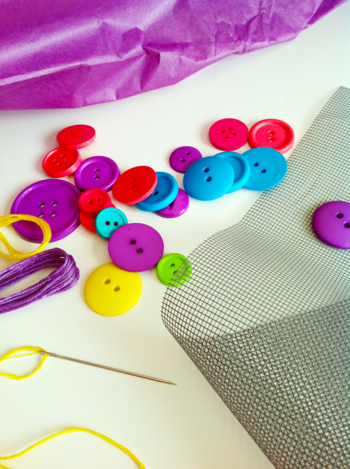 Buttons And Embroidery Floss - mydearirene