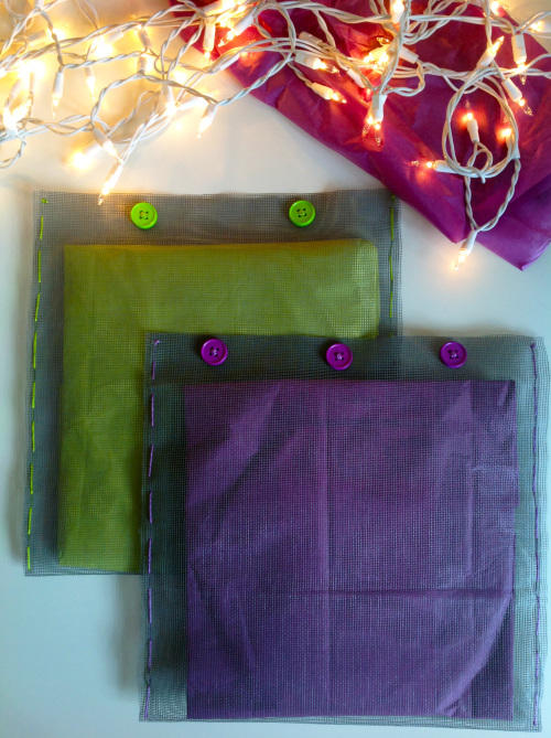 Green And Purple Pouches - mydearirene
