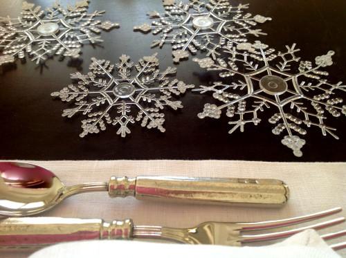 Plastic Snowflakes - mydearirene