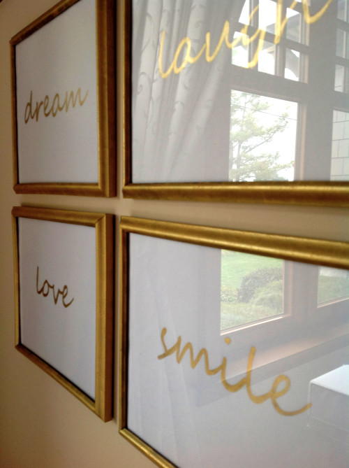 Framed Words - mydearirene