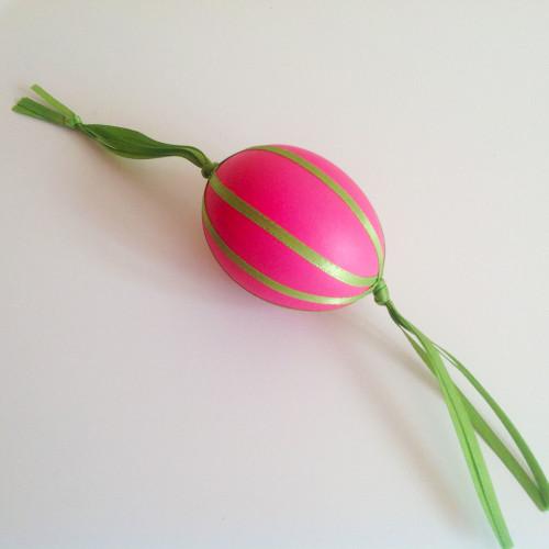 Easter Egg With Tassel - mydearirene