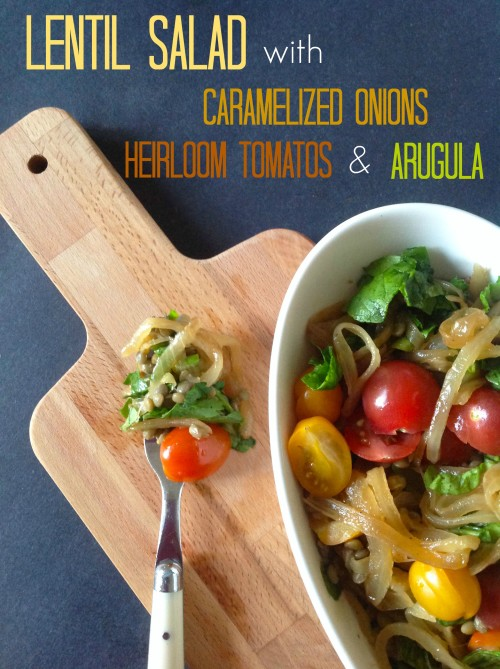 Lentil Salad - mydearirene