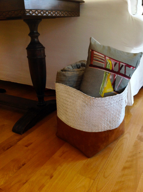 Basket In The Living Room - mydearirene