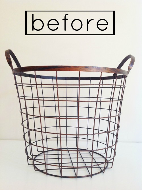 Basket Before - mydearirene