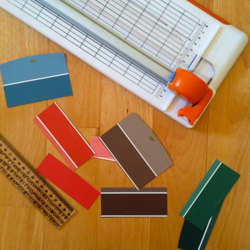 Cutting Chip Paints - mydearirene