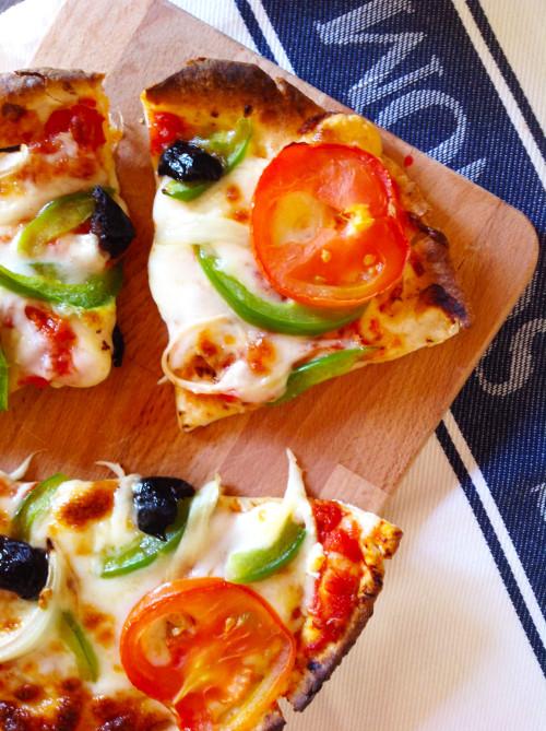 Individual Easy Pizza - mydearirene