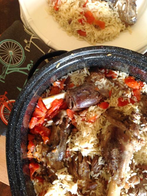 Lamb And Rice - mydearirene.com