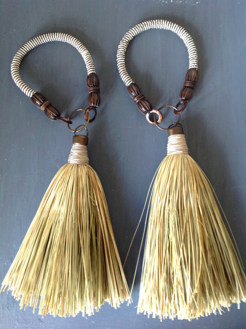 Set Of Two Curtain Tieback Tassels